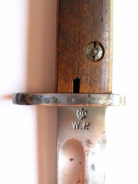 штык обр. 1928 года (без защитной планкой на обухе рукояти) 03