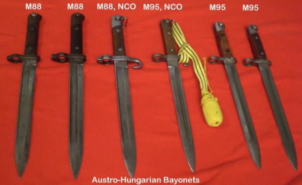к различным образцам австро венгерских винтовок, штуцеров и карабинов системы Манлихера