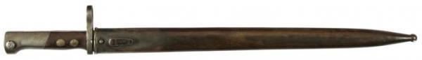 штык из югославского штыка М1924 для винтовки М95М. Вариант 1 (01)