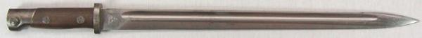 штык из югославского штыка М1924 для винтовки М95М. Вариант 3 (01)