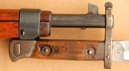 обр. 1895 года на винтовке (карабине) системы Манлихера М1895 (01)