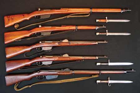 винтовки и карабины системы Манлихера и различные штыки к ним 02