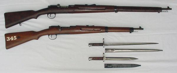 винтовка и карабин системы Манлихера Шёнауэра М1903 14 01