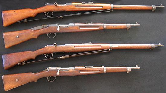винтовки и карабины Манлихера Шёнауэра образцов 1903 г. и 1903 14 г. 01