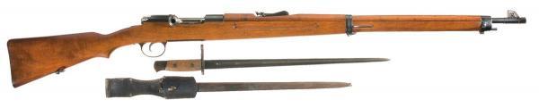винтовка Манлихкра Шёнауэра итальянского производства Y1903 14 «BREDA 1927» 04