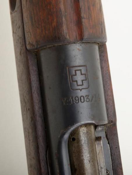 винтовка Манлихкра Шёнауэра итальянского производства Y1903 14 «BREDA 1927» 14