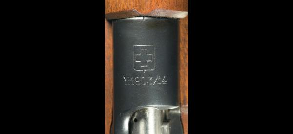 винтовка Манлихкра Шёнауэра итальянского производства Y1903 14 «BREDA 1927» 10