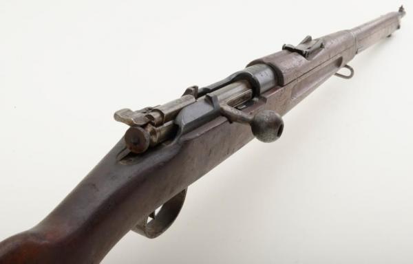 винтовка Манлихкра Шёнауэра итальянского производства Y1903 14 «BREDA 1927» 15