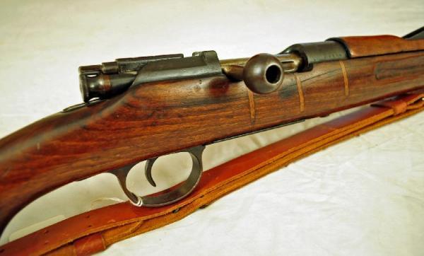 винтовка Манлихкра Шёнауэра итальянского производства Y1903 14 «BREDA 1927» 20