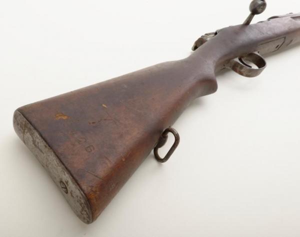 винтовка Манлихкра Шёнауэра итальянского производства Y1903 14 «BREDA 1927» 17