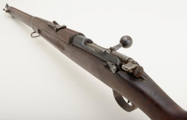 винтовка Манлихкра Шёнауэра итальянского производства Y1903 14 «BREDA 1927» 16