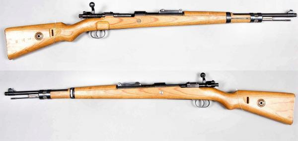 укороченная винтовка Mauser 98k 02
