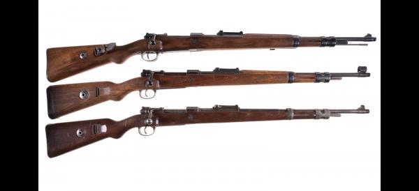укороченные винтовки Mauser 98k 01