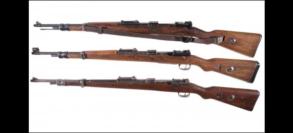 укороченные винтовки Mauser 98k 02