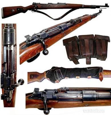 укороченная винтовка Mauser 98k 10