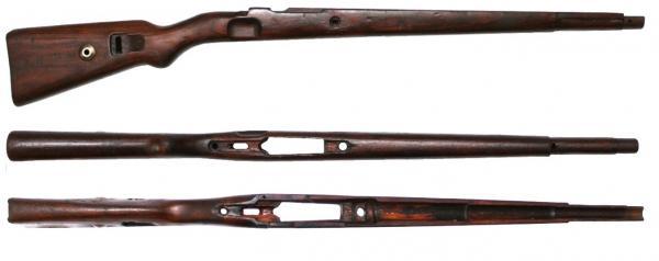 от укороченной винтовки Маузер 98k 01