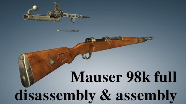 укороченная винтовка Mauser 98k 00ю