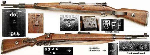 укороченная винтовка Mauser 98k 61