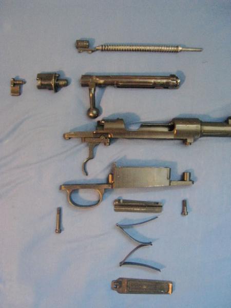ствольная коробка немецкой укороченной винтовки Mauser 98k