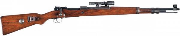 снайперская винтовка Mauser Kar.98k с прицелом ZF 41