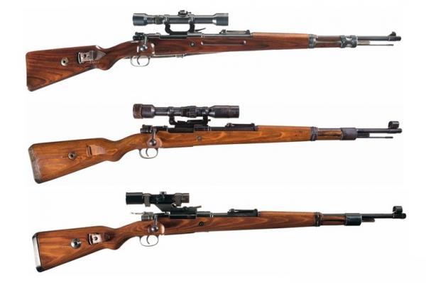 снайперские винтовки на базе Mauser 98k 02