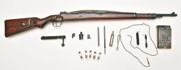 укороченная винтовка Mauser 98k и принадлежности к ней 01