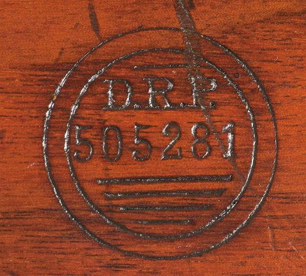DRP (Deutsche Reichspost) на прикладе винтоки Mauser 98 DRP 01