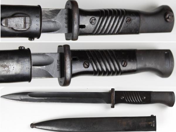 02 Немецкий штык S 84 98 III (крупным планом) 02