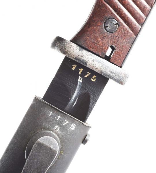 нож немецкий обр. 1884 98 года 11