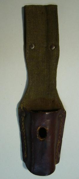 21 Комбинированный (кожано брезентовый) подвес к немецкому штыку обр. 1884 98 года 02