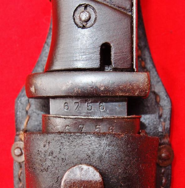 нож немецкий обр. 1884 98 года 22