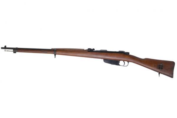 6,5 мм итальянская винтовка Каркано обр. 1891 1940 года 02