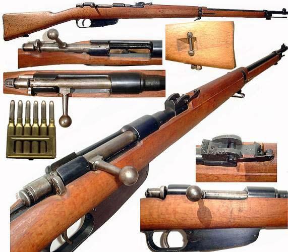 6,5 мм итальянская пехотная винтовка Каркано обр. 1891 1941 года 00