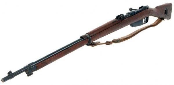 Итальянская винтовка Каркано обр. 1891 1941 года 02