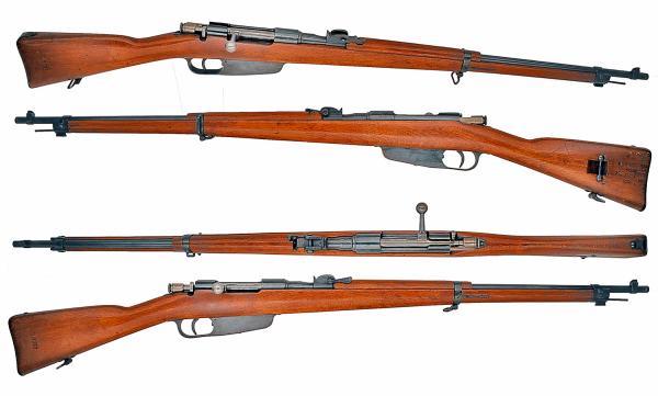 Итальянская винтовка Каркано обр. 1891 1941 года 01