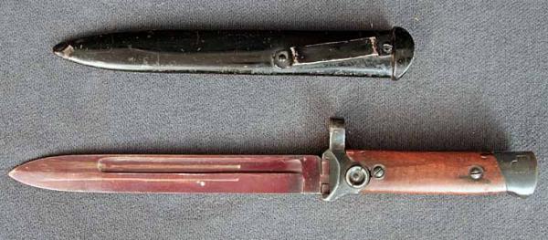 Итальянский складной штык образца 1938 года (01)