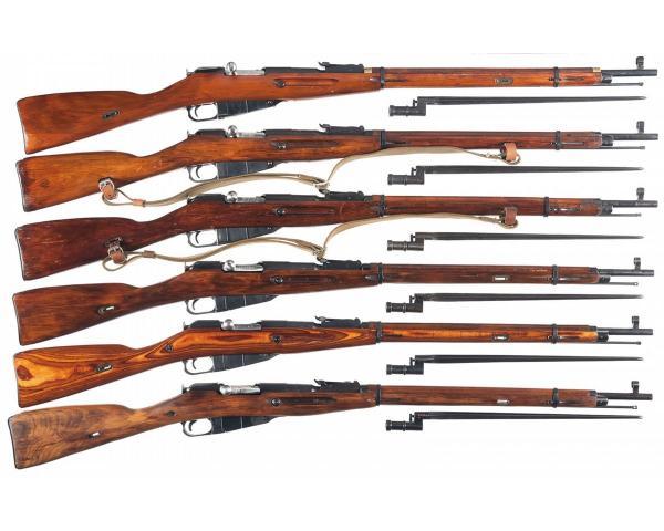 винтовки обр. 1891 1930 года и штыки 01