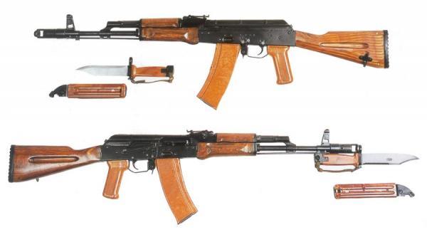 Калашникова обр. 1974 года (АК 74) 02