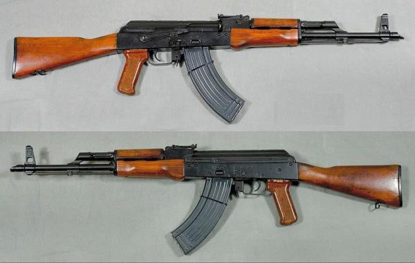 7,62 мм автомат Калашникова модернизированный (АКМ) 01