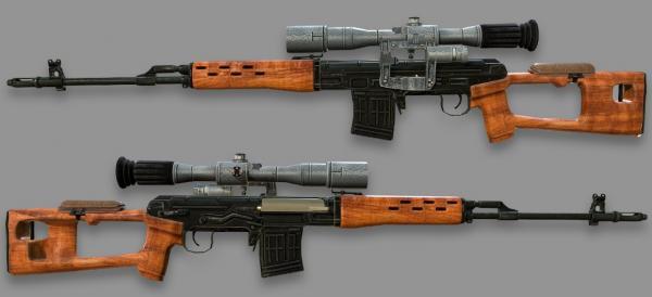 винтовка Драгунова (СВД) 13