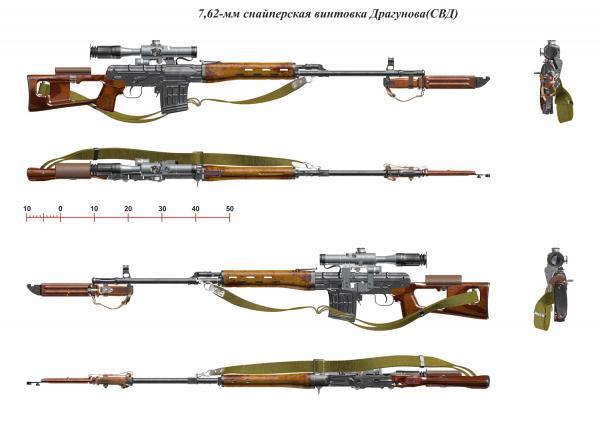 винтовка Драгунова (СВД) 01