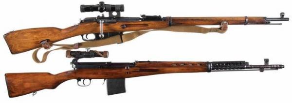 снайперские винтовки времён ВОВ 01