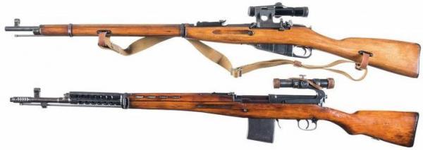 снайперские винтовки времён ВОВ 02