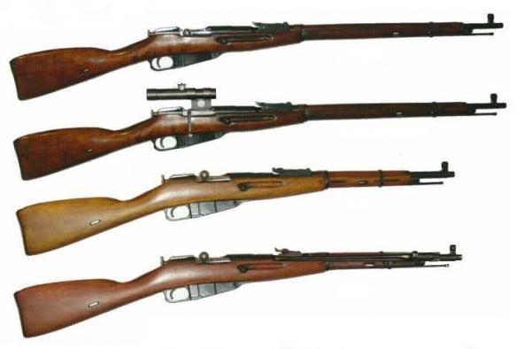 винтовки и карабины системы Мосина