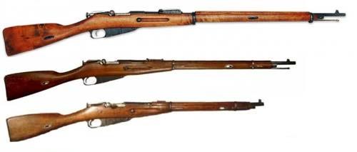 винтовок и карабинов системы Мосина 02