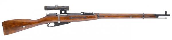 винтовка Мосина обр. 1891 1930 гг. с оптическим прицелом ПУ (03)
