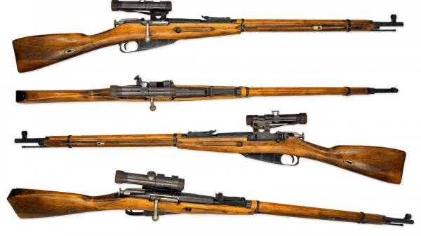 винтовка Мосина обр. 1891 1930 гг. с оптическим прицелом ПУ (01)