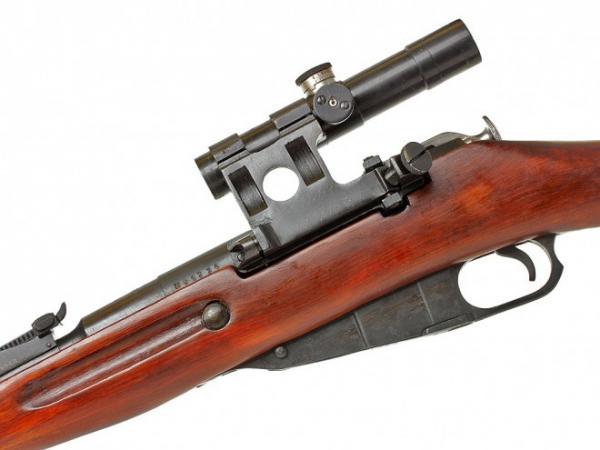 винтовка Мосина обр. 1891 1930 гг. с оптическим прицелом ПУ (05)