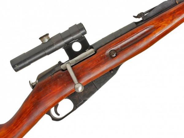 винтовка Мосина обр. 1891 1930 гг. с оптическим прицелом ПУ (04)