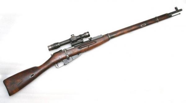 винтовка обр. 1891 1930 гг. с оптическим прицелом ПЕ